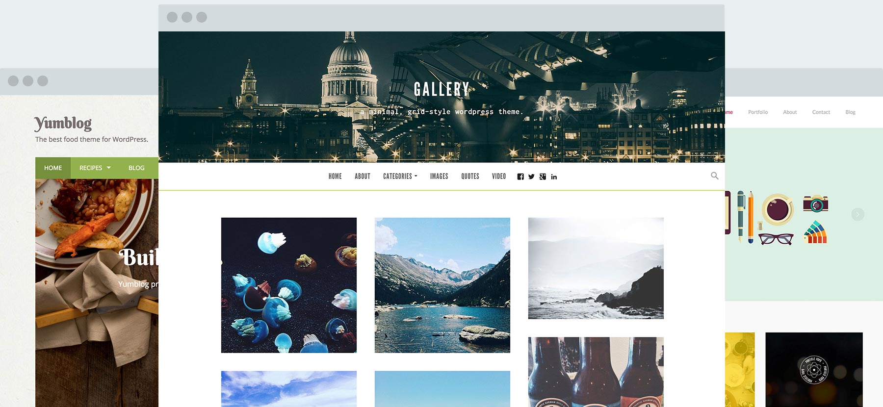 responsive wordpress themes for business creatives and more