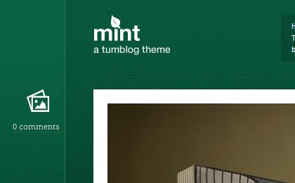 Mint Theme Header