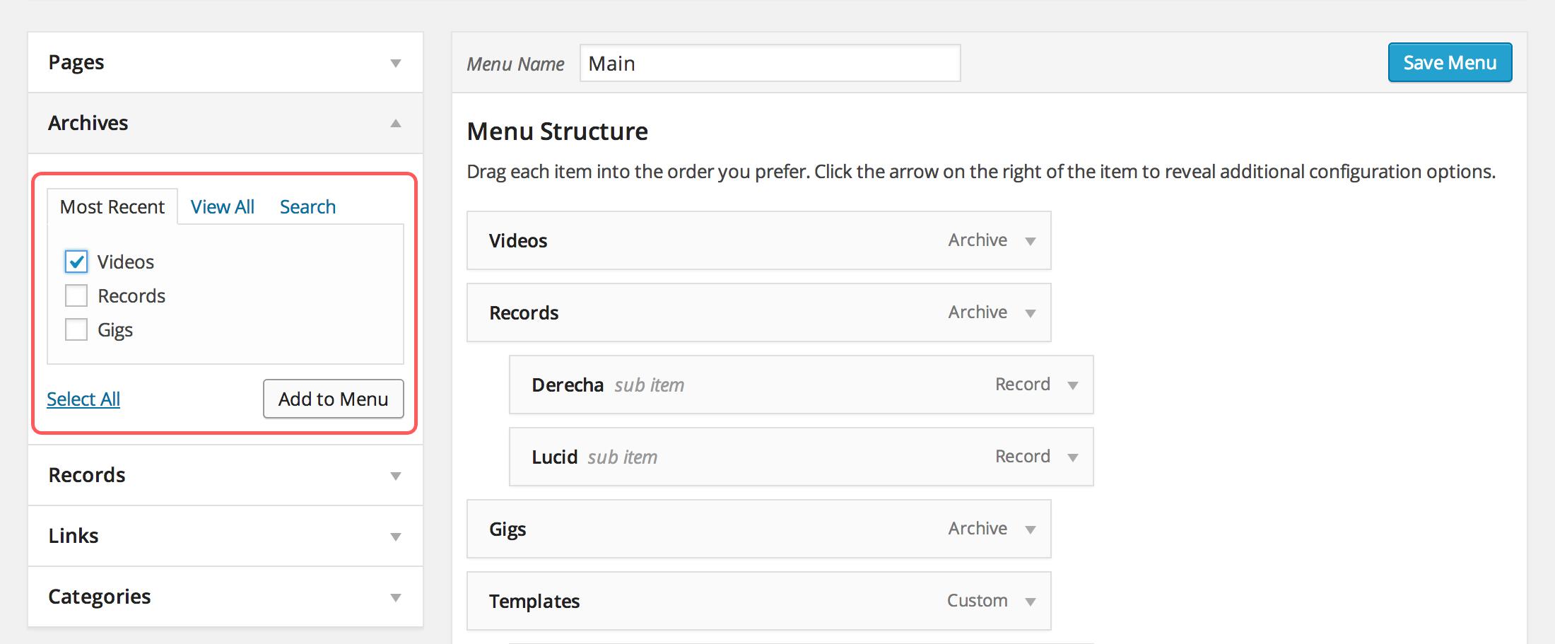 audiotheme-add-menu