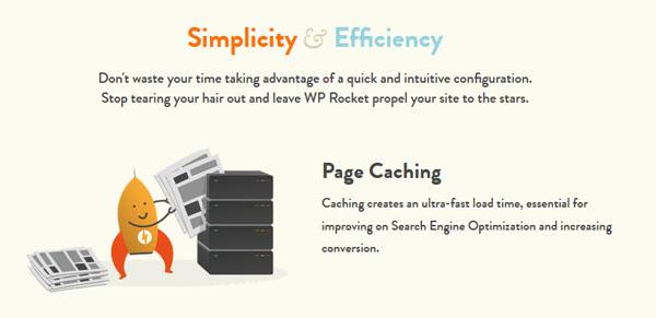 WP Rocket plugin - 1 of the 9 Essential WordPress Plugins