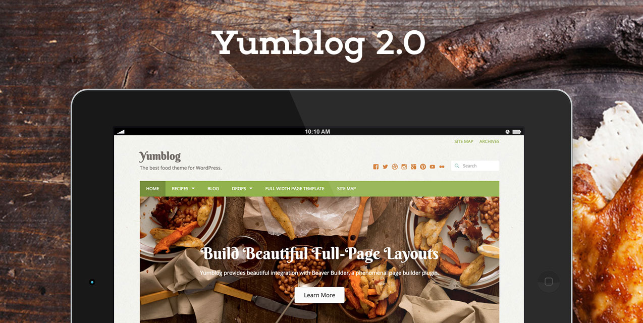 Build A Powerful User Driven Recipe Website With Yumblog 20