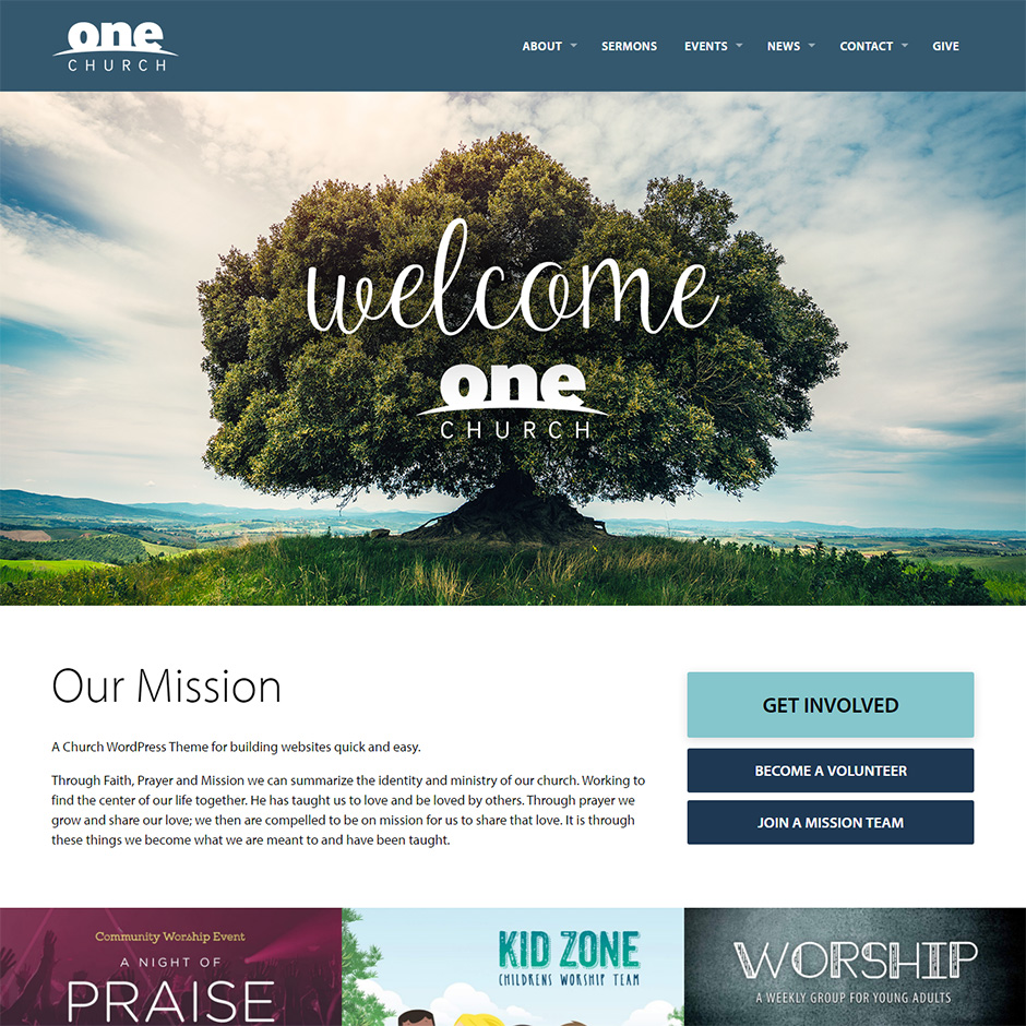 one-church-theme-preview